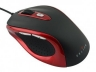 Mышь Oklick 404M Red/Black (switchable 800/1600dpi) USB